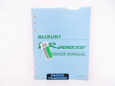 SUZUKI DR200 SE Cyclepedia Printed Motorcycle Service Manual ... on