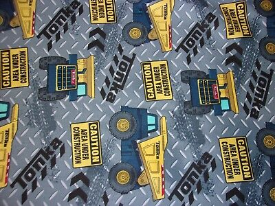 New Hand Made Tonka Truck Construction Fitted Crib/Toddler Sheet