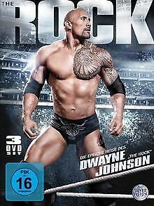 WWE - The Epic Journey of Dwayne The Rock Johnson [3...   DVD   Zustand sehr gut