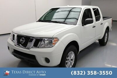 2017 Nissan Frontier SV 4dr Crew Cab Texas Direct Auto 2017 SV 4dr Crew Cab Used 4L V6 24V Automatic RWD Pickup Truck