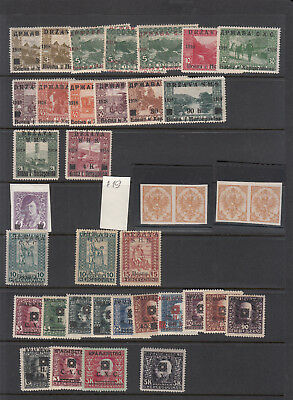 Bosnia & Herzegovina - stamp collection including many variaties
