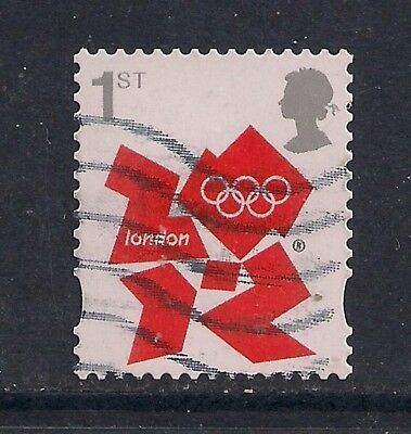 GB 2012 QE2 1st London Olympic Games Emblem definitive SG 3251 ( M509 )