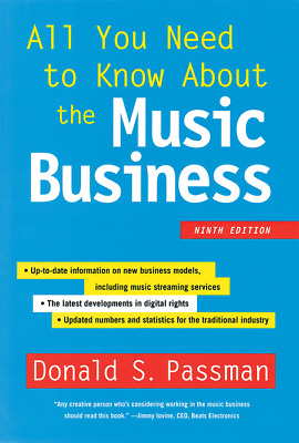 All You Need to Know about the Music Business 9 Edition EB00K