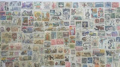 300 Different Czechoslovakia Stamp Collection