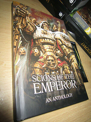 SCIONS OF THE EMPEROR HB Event Exclusive Warhammer 40K Primarchs Horus Heresy