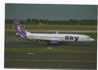 Sky Airlines Boeing B-737-94XER Aviation Postcard, A689