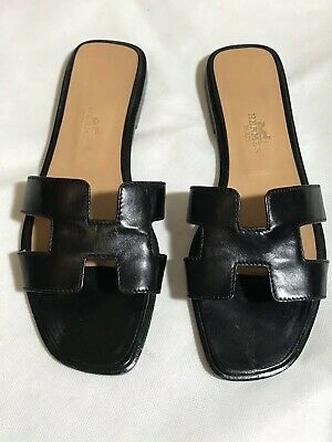 35493f404448 HERMES WOMAN S ORAN Sandals Shoes 6 -  370.00