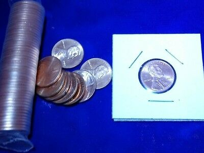 2019 UNCIRCULATED Proof-Like Shield Lincoln one cent coin in a Protector.