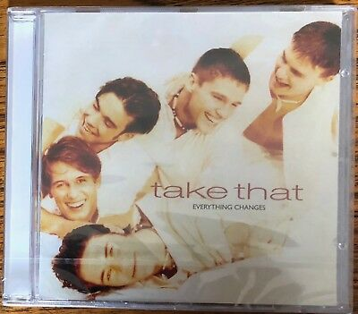 Take That - Everything Changes (Sealed Deluxe 17 Track Eu Cd)