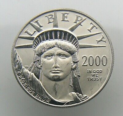 2000 1 oz $100 AMERICAN EAGLE PLATINUM COIN