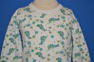 vintage 70s HORSE AND CARRIAGE BUGGY STAGECOACH WHITE SWEATSHIRT YOUTH MEDIUM M