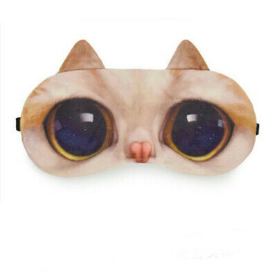 A6 Cat Cotton Originality Animals Sleeping Eye Mask Travel Eyepatch 1 Pcs A