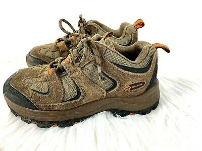 f23ded3d68e NEVADOS BOOMERANG II Low Hiking Shoes size 1.5 Youth Boys Brown