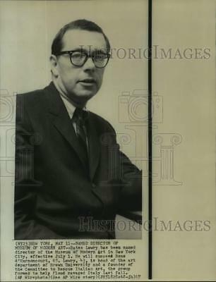1967 Press Photo Director of Museum of Modern Art in New York Bates Lowry