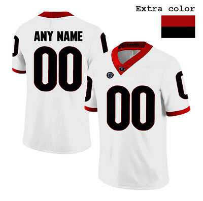 c36df8944 Customized Georgia Bulldogs Stitched Jersey Authentic NCAA College Football