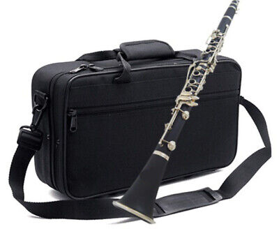A03 17 Keys Bb Clarinet  Black Musical Instrument With Case Accessories O