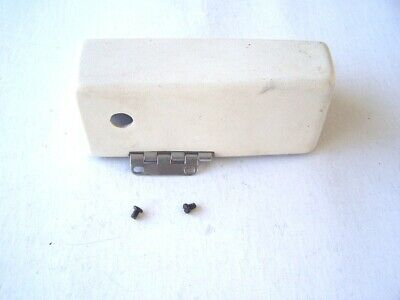 Singer Sewing Machine model 5107 Front Cover or End Cover with Hinge used