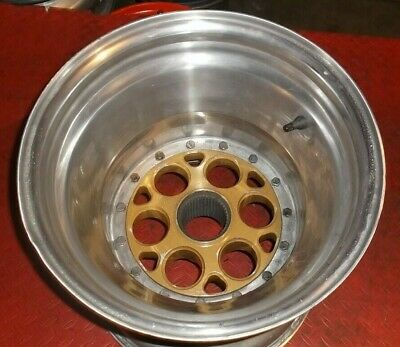 Sprint Car Race Car Weld Splined Inner Bead Lock 14 x 5 Wheel