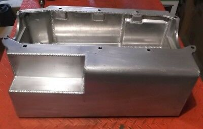 Sprint Car Race Car Moroso SBC Aluminum Dry Sump Oil Pan