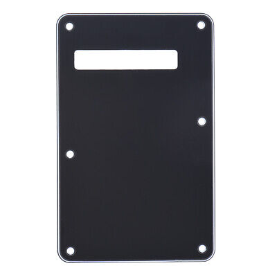 Pickguard Tremolo Cavity Cover Backplate 3Ply PVC For Electric Guitar W4S7