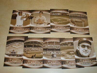 Lot Of (9) 2019 Topps Series 1 Equipment Evolution Inserts All Different