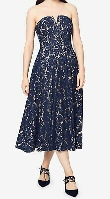 347ee0d157 Fame and Partners NEW Navy Blue Women s Size 8 Lace Sheath Dress  269  034
