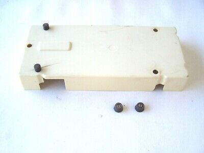 Singer Sewing Machine model 5107 Bottom Cover with Bump Pads used