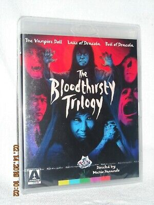 The Bloodthirsty Trilogy (Blu-ray, 1970, 2-Disc) NEW 1960s asian gothic horror
