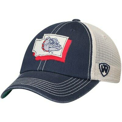the best attitude c1d47 54a0b Gonzaga Bulldogs Top of the World United Trucker Team Color Adjustable Hat -
