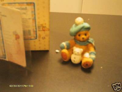 Cherished Teddies   JANUARY BEAR - a New Year with Old Friends  1993  914754
