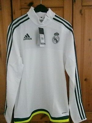 e3739b484 Adidas Performance Real Madrid Fc Training Top Sweatshirt Men s size S BNWT
