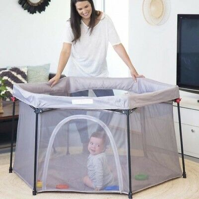 Koo-di Deluxe Baby Fold-able Playpen