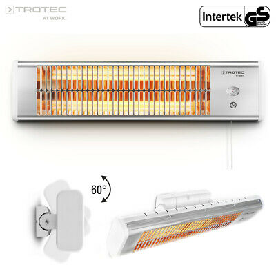 TROTEC Infrared Radiant Heater IR 1200 S | Heating Panel | Outdoor | Terrace