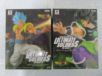F Banpresto Dragon Ball Ultimate Solders The Movie Broly & Gogeta figure Japan