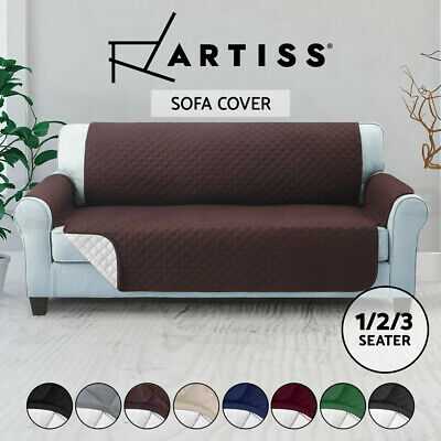 Artiss Sofa Cover 1 2 3 Seater Couch Covers Slipcovers Quilted Lounge Protector