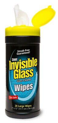 Stoner ST-IGW Invibile Glass Crystal Clear Handy Car Office Handy Wipes