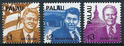 [H16227] Palau 2000 AMERICAN PRESIDENTS Good set of stamps very fine MNH
