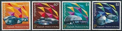 [H16258] Singapore 2002 THEATRES Good set of stamps very fine MNH