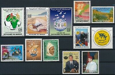 [H16434] Morocco After 2000 Good lot of stamps very fine MNH