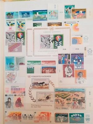 Briefmarken-Sammlung Vereinte Nationen