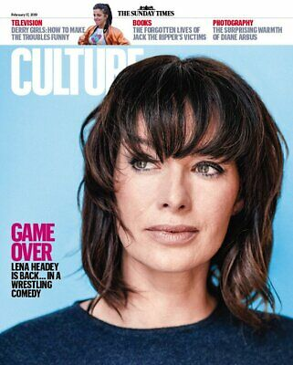 UK CULTURE Magazine FEB 2019: LENA HEADEY COVER AND FEATURE