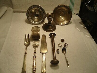 sterling lot 154g clean 802 grams / 28 oz  total weighted see pic