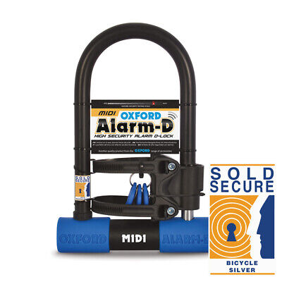Oxford Alarm-D Midi 260mm x 173mm Motorcycle Scooter Cycle
