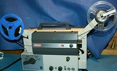 Working Eumig Mark S710D Super 8mm / Standard 8mm Sound Film Projector,Serviced