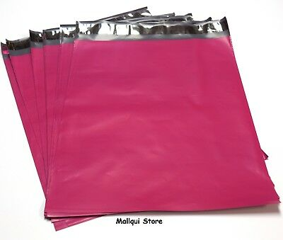 10 HOT PINK COLOR POLY MAILER BAGS 10 x 13 BOUTIQUE MAILING BAGS BEST QUALITY