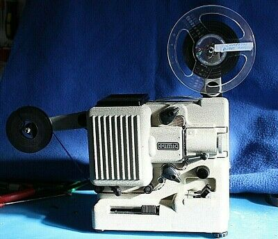 Working Eumig P8 M, Standard 8mm Projector, Serviced, with original Box
