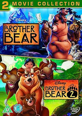 Brother Bear / Brother Bear 2 (DVD, 2006, 2-Disc Set, Animated) disney family