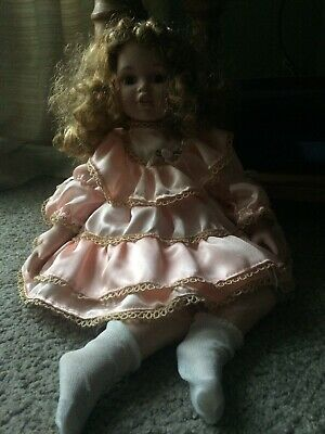 Porcelain Sitting Doll