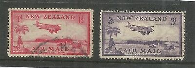 Arcade 99p Start New Zealand 1935 Air 2 x Fine Used Issues