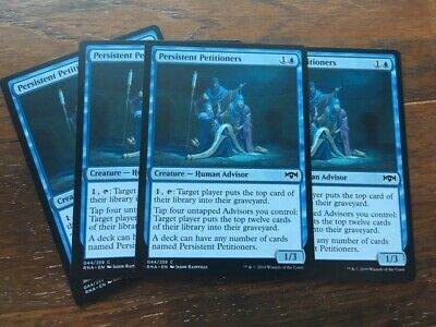 4x Persistent Petitioners Ravnica Allegiance RNA MtG , Multiple Available